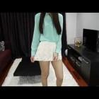 2013 Spring Fashion Hual- ZARA Lace Skirt, J Crew Short, Free People Short, Banana Republic Blouse