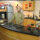 Spicy Chicken Broast and  and Macroni salsa pakistan food Chef Asad Part1.mpg
