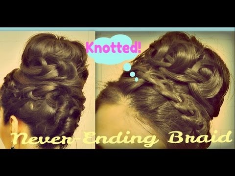 Fine How To Do A Never Ending French Braid Sock Bun Braids Hairstyles For Women Draintrainus