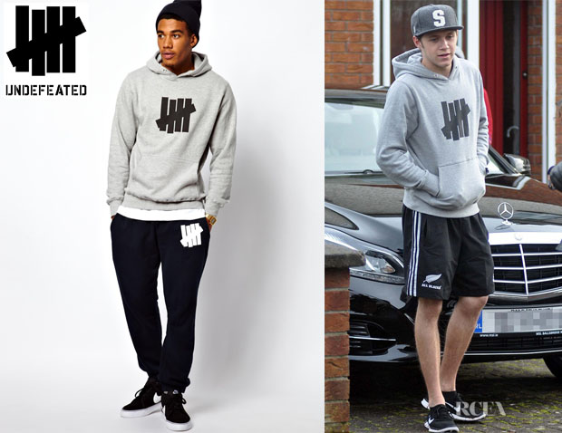 Niall Horan S Undefeated Hooded Sweatshirt Qtiny Com