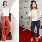 Nikki Reed In Sachin + Babi – Cotton Incorporated's Blue Jeans Go Green Celebration