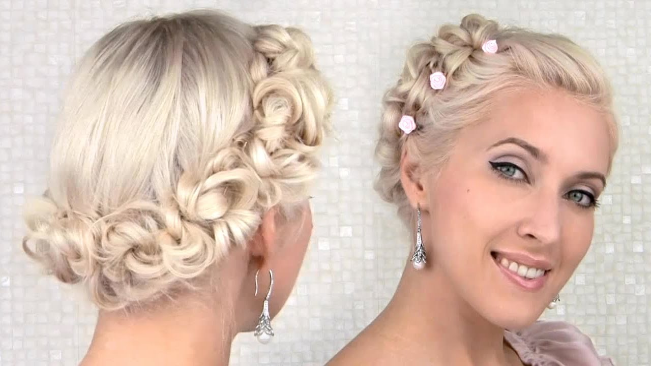 Easy Prom Wedding Updo Hairstyle Cute Angel Fairy Princess Hair