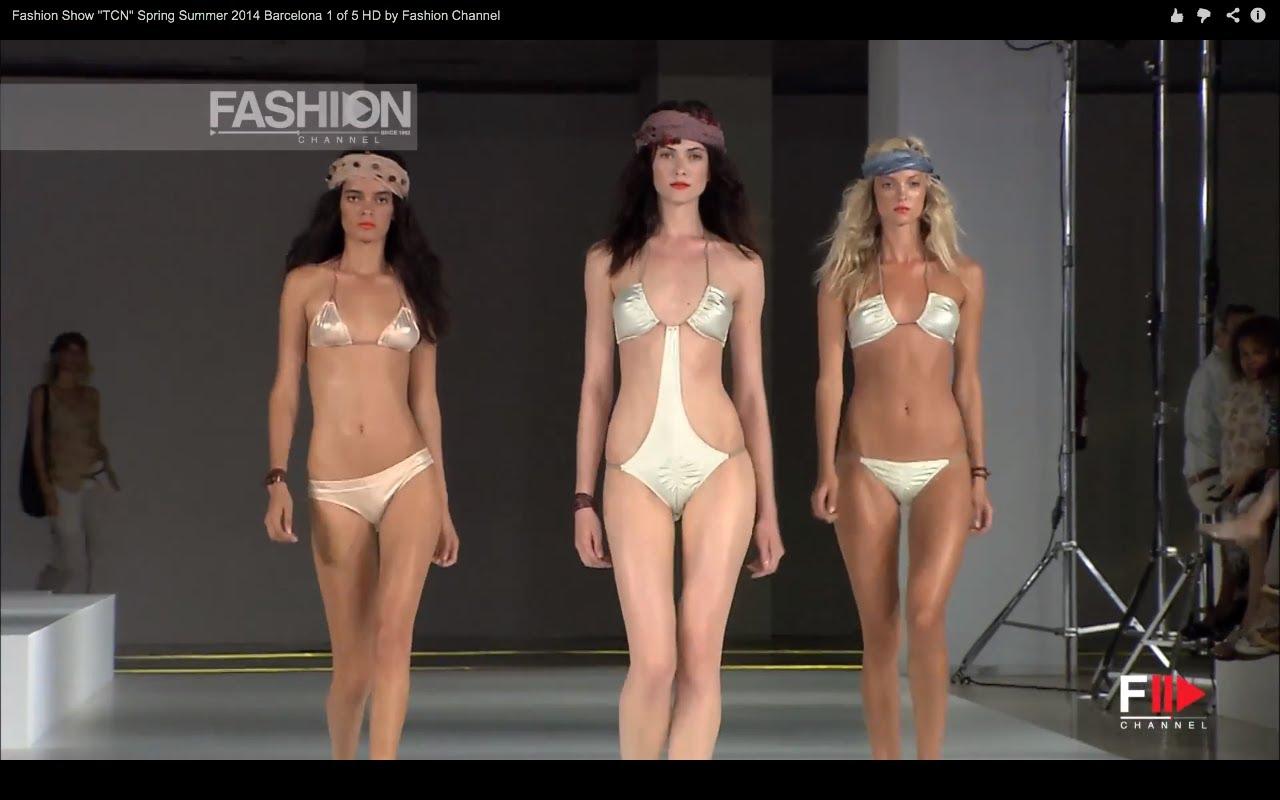fashion show tcn spring summer 2014 barcelona 1 of 5 hd