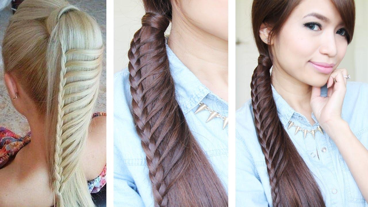 Swell Hair Tutorials For Medium Hair Braids Short Hairstyles Gunalazisus