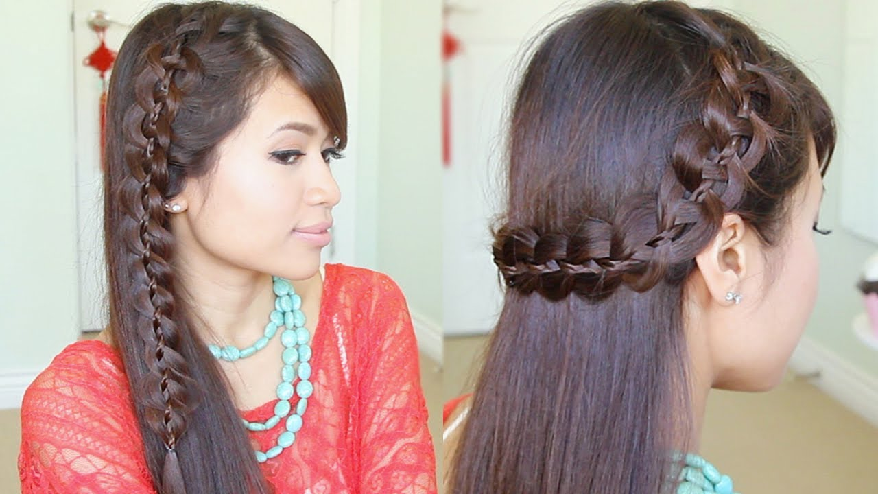 Braid Unique Hairstyle for Long Hair