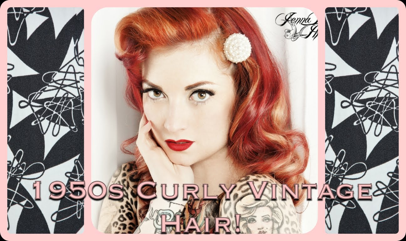 50s pin up hairstyles : 1950s hairstyles for curly hair