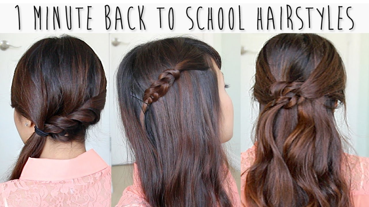 Easy School Hairstyles for Medium Hair