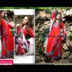 Lawn Prints by Gul Ahmed Latest Fashion Magazine Women Collection 2013 lawn
