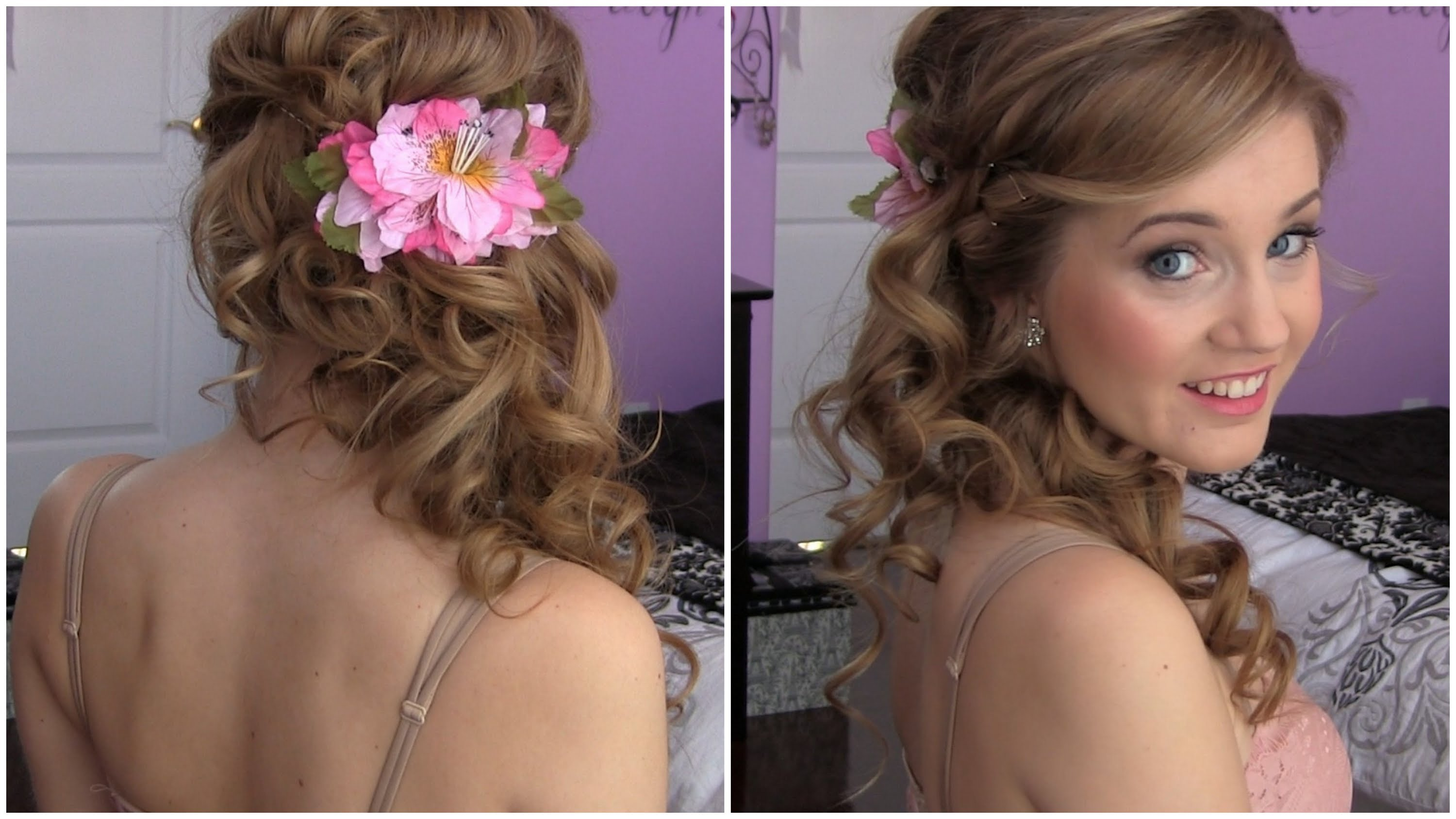 Excellent Cool Hairstyle 2014 Curly Hairstyles For Prom To The Side Short Hairstyles Gunalazisus