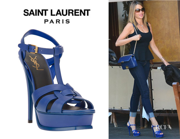 Sofia Vergaras Saint Laurent Classic Tribute 105