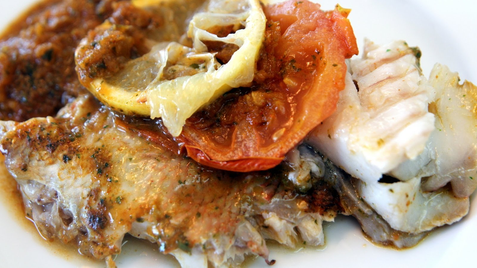 Baked fish with moroccan charmoula recipe for Moroccan fish recipe