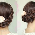 Crochet Stitch Updo Hairstyle for Medium Long Hair Tutorial – Bebexo