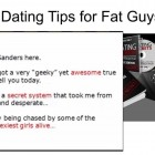 Dating Tips for Fat Guys – Date A Hot Girl Even if You're Fat!