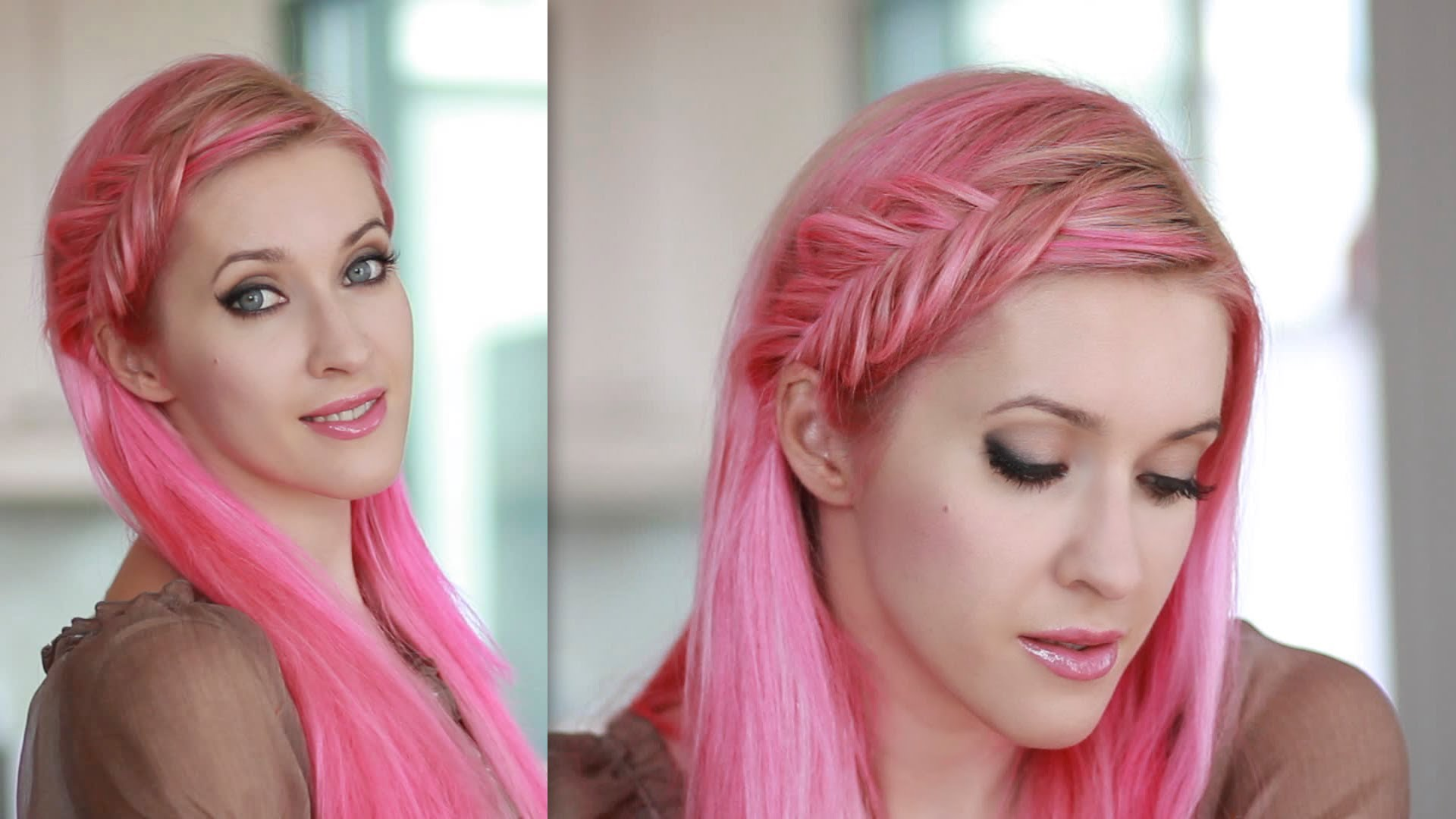 Inside Out French Fishtail Braid Tutorial Everyday Hairstyle For