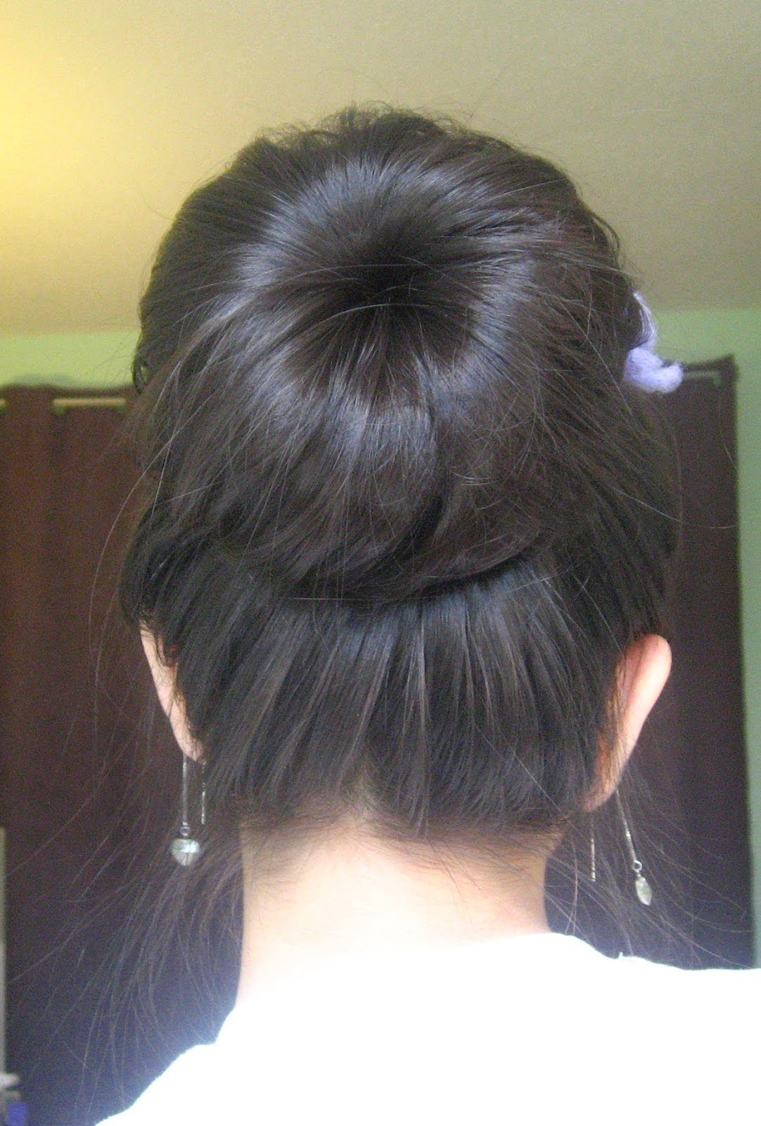 Original Simple Easy High Bun Updo Formal Updos 2013  Hairstyles Weekly