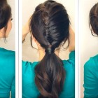 ★ HAIRSTYLE TUTORIAL | HOW TO CREATE A HALF FRENCH FISHTAIL BRAID FANCY PONYTAIL | MEDIUM LONG HAIR
