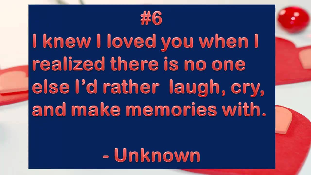 I Love You Quotes Top 10 : Top 10 Love Quotes. QuotesGram