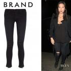 Olivia Munn's J Brand '811 Photo Ready' Distressed Skinny Jeans
