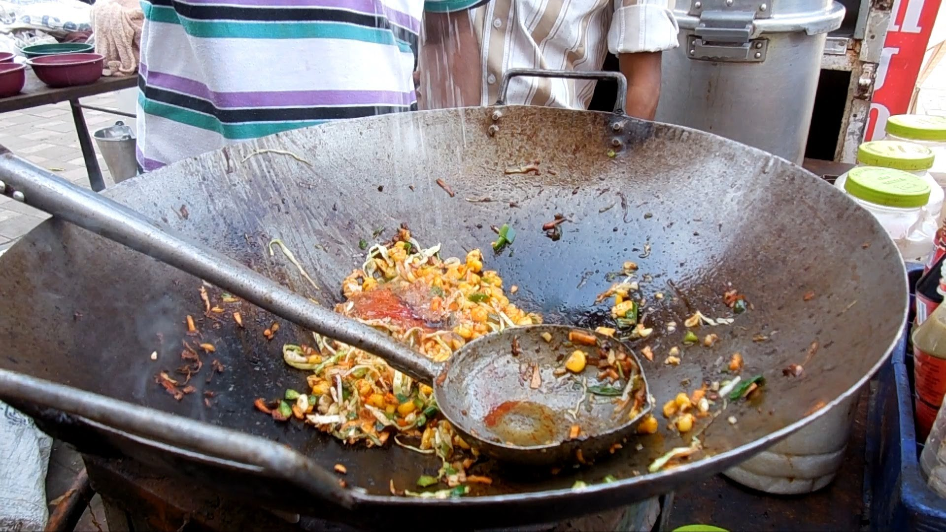 Indian Street Food Scene The Skillful Master Chefs In The