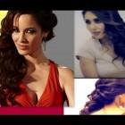 ★CUTE HAIRSTYLES: SIDE-SWEPT CURLY HALF-UP UPDO FOR MEDIUM LONG HAIR TUTORIAL| 007 SKYFALL BOND GIRL
