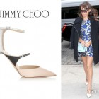 Rashida Jones' Jimmy Choo 'Typhoon' Leather Pumps