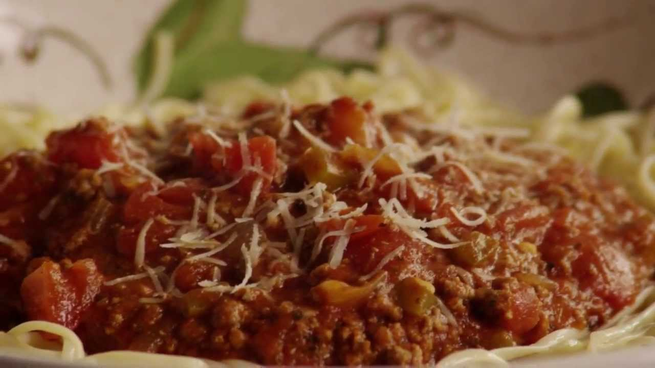 Beef Recipes How To Make Spaghetti Sauce With Ground