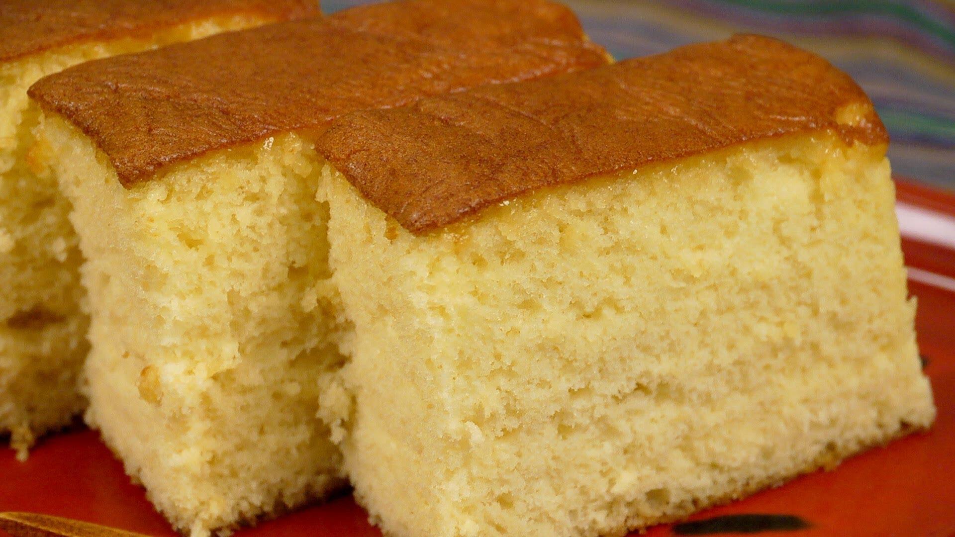 Easy Vanilla Orange Cake Without Egg