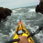 Franklin Point: Kayak Rock Gardening with a side of Kayak Surfing