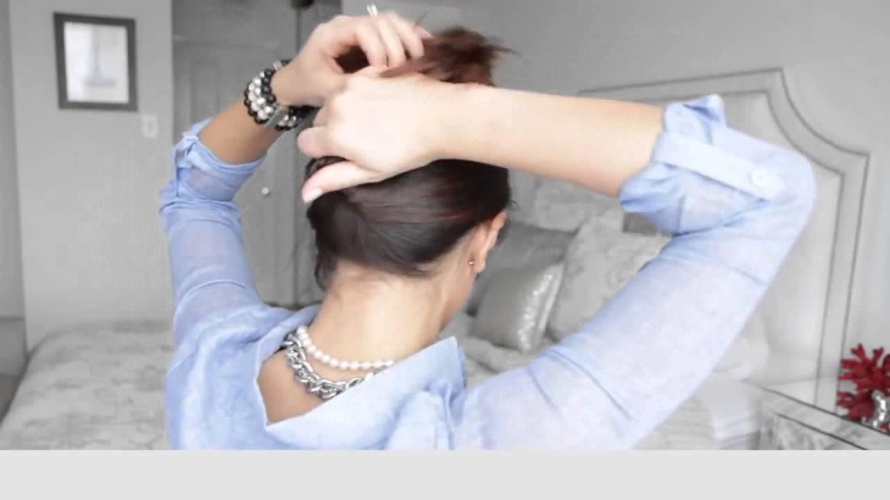 Video Wedding Hair Updo Tutorial 325
