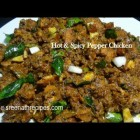 Hot and Spicy Pepper Chicken – Chettinad Pepper Chicken – Pepper Chicken Recipe