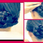 ★ RUNNING LATE, WET HAIR HAIRSTYLES TUTORIAL| CUTE BRAIDED BUN UPDOS FOR MEDIUM LONG HAIR| SCHOOL