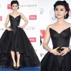 Fan Bingbing In Zac Posen – 'X-Men: Days of Future Past' Beijing Premiere