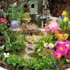Fairy garden design decorating ideas