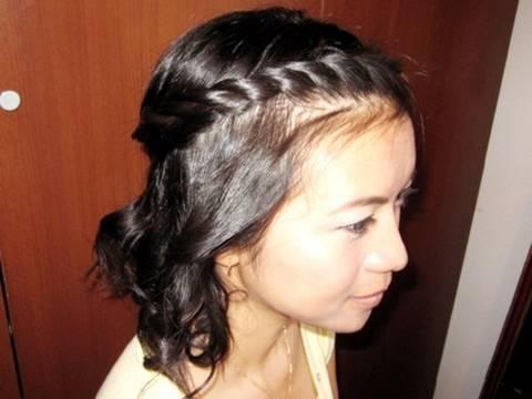 Bohemian Twist Rope Braid Hairstyle For Short Medium Long