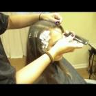 Caramel Color Partial Highlights on Medium Brown, Virgin Hair (Hair Tutorial)