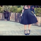 10 Ways to Wear a Midi Skirt – Styled by Real Girls! | Fashion Lookbook