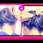 ★ HAIR TUTORIAL: CUTE FISHTAIL BRAID SOCK BUN HAIRSTYLES FOR MEDIUM LONG HAIR FOR SUMMER