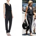 Heidi Klum's Rebecca Minkoff 'Mara' Silk Jumpsuit