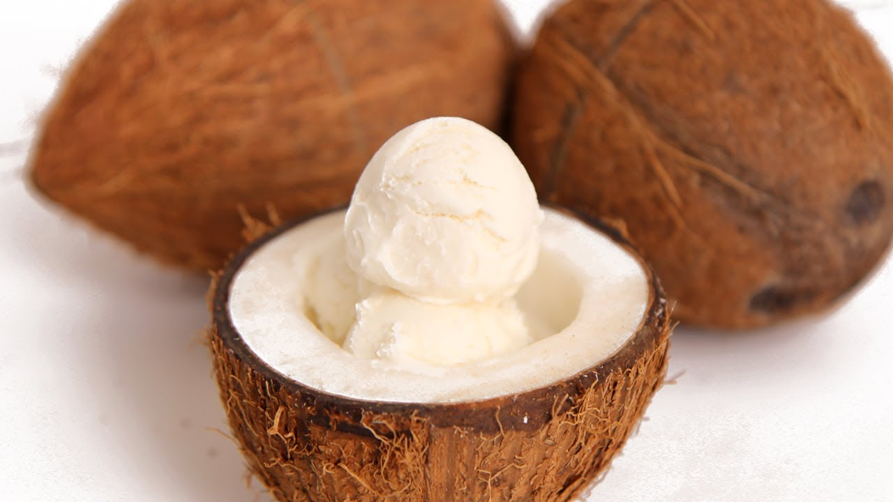 Coconut Ice Cream Recipe – Laura Vitale – Laura in the Kitchen ...