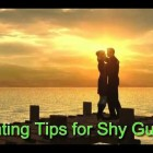 Dating Tips for Shy Guys
