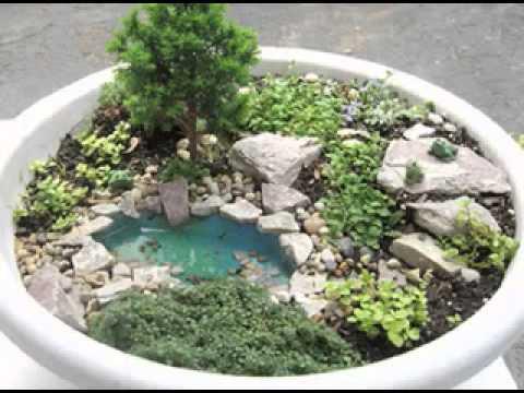 Diy miniature garden decorating ideas for How to make a miniature garden
