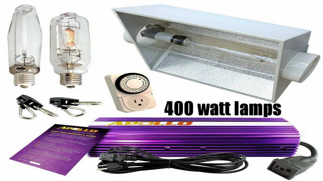 Grow lights review what grow lights are good for indoor for Indoor gardening lights