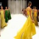 Carolina Herrera Runway Show, New York Fashion Week Spring 2012 NYFW ft Karlie Kloss | FashionTV FTV
