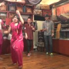 Sangam Restaurant Busan korea Live Dance with indian chef