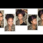 Tutorial | 5 Quick Styles for Natural Hair! -Short/Med #2