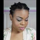 Bantu Knot Tutorial on Short Natural Hair – SimplYounique