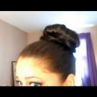 Donut Bun for Long Thick hair Tutorial (Sock Bun)