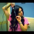 Kardashian Wavy Hair: Conair Clipless XL Wand Hair Tutorial