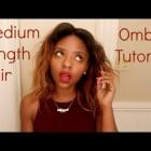 Medium-length Hair Ombré Tutorial