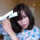 Medium length hair curling tutorial